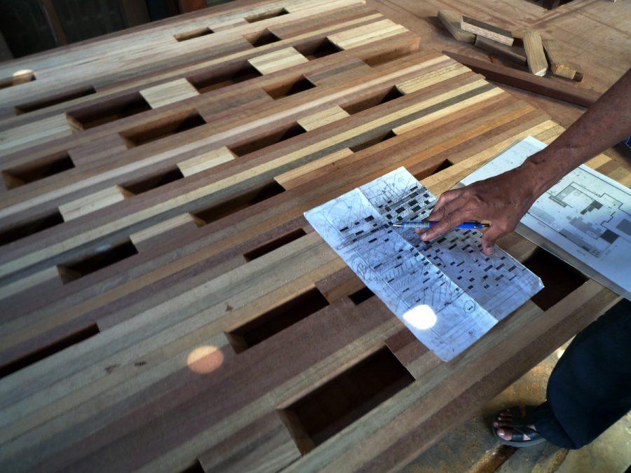 Progress 04 - wood workshop